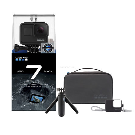 Gopro Hero 7 Black + Travel Kit